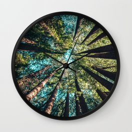 Mighty Woods Wall Clock