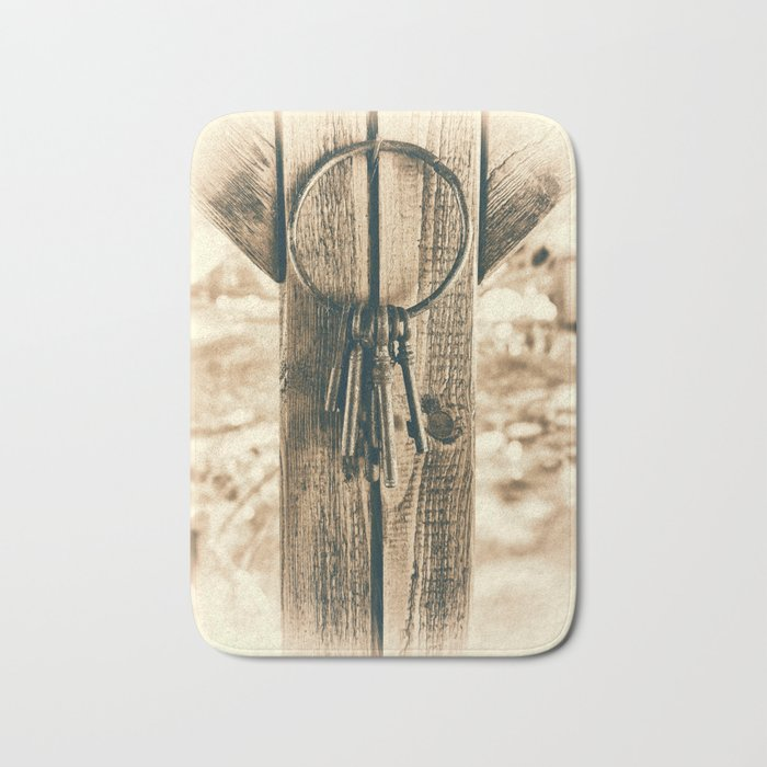 Keys Bath Mat