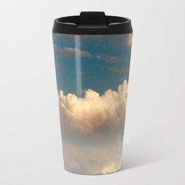 Bright and dark clouds Travel Mug