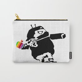 Banksy + Android = Bankdroid Carry-All Pouch