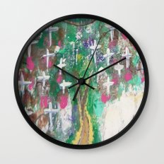 Angelic Protection Wall Clock