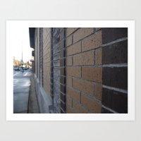 leading line  Art Print