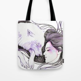 Sleep Like Woves Tote Bag
