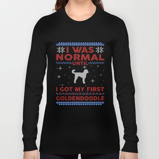 Goldendoodle Ugly Christmas Sweaters by tuandaaio