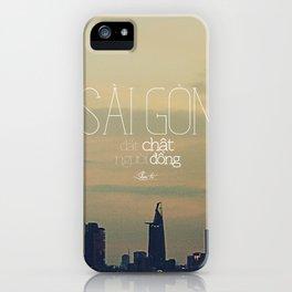 Sai Gon iPhone Case