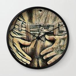 Picasso's Boner Wall Clock