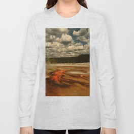 Hot And Colorful Thermal Area Long Sleeve T-shirt