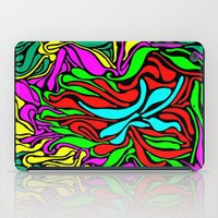 supreme iPad Cases featuring Lava Supreme by clawsalina