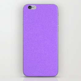 Dense Melange - White and Indigo Violet iPhone Skin