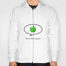 René likes apples Hoody