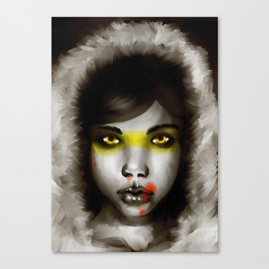 Hunter Hunted Canvas Print
