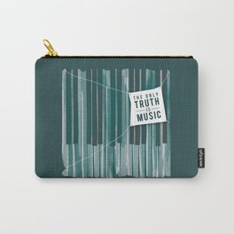 The Only Truth is Music Carry-All Pouch
