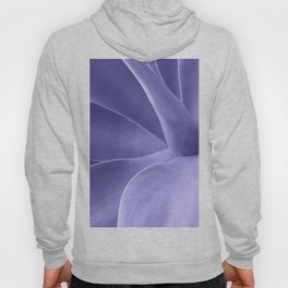 Periwinkle Succulent Hoody