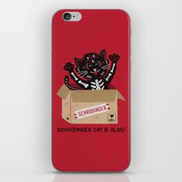 Am I Alive Schrödinger Cat iPhone Skin