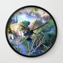 In focus Wall Clock