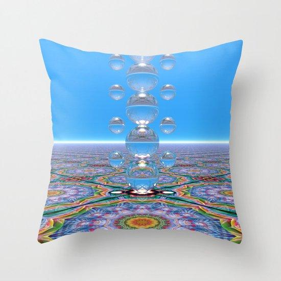 Crystal Totem Throw Pillow