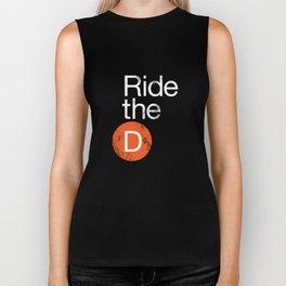 Ride The D Biker Tank