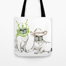 Cowboys & Aliens Tote Bag