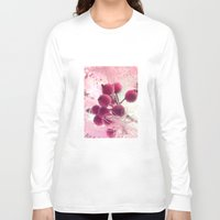 merry christmas Long Sleeve T-shirts featuring Merry Christmas ! by Françoise Reina