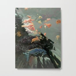 aquaglitch Metal Print