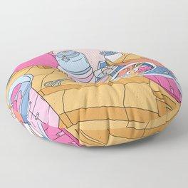 MANEKI NEKO STREET FOOD Floor Pillow