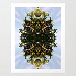 fairfax lemon tree 2 Art Print