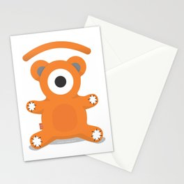 ted.eye bear Stationery Cards
