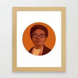 Queer Portrait - Audre Lorde Framed Art Print
