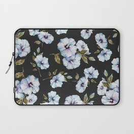 BLUE FLOWERS WATERCOLOR Laptop Sleeve