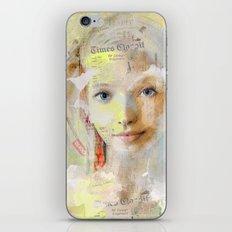 The nice girl iPhone & iPod Skin