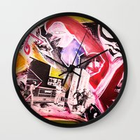 madonna Wall Clocks featuring La Madonna by Davide Spinelli