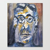 dad Canvas Prints featuring Dad by ellen z salov
