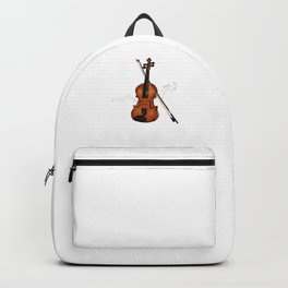 Awesome Saxophone Musical Instrument Sax Player Musician Backpack