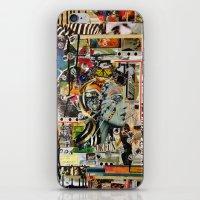 safari iPhone & iPod Skins featuring Safari by Katy Hirschfeld