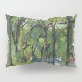 "Paul Cezanne ""The Orchard. La côte Saint-Denis à Pontoise"" Pillow Sham"