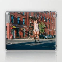 SHE'S ROLLIN' Laptop & iPad Skin