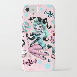 Mint Sugar Pinup Doll iPhone Case