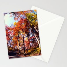 Fisheye Fall II Stationery Cards
