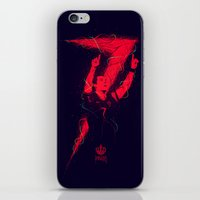 ronaldo iPhone & iPod Skins featuring Ronaldo by Andres Moncayo