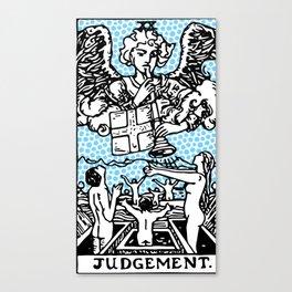 Modern Tarot Design - 20 Judgement Canvas Print