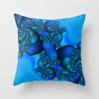 illusion Throw Pillows featuring Illusion by Christy Leigh