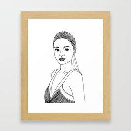 M.Kerr Framed Art Print
