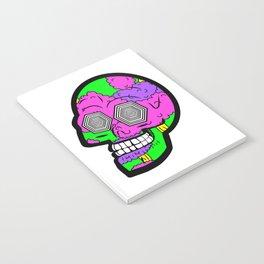 Psych Skull Notebook