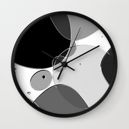 Circle Series - Chrome Wall Clock