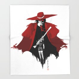 Hellsing Throw Blanket