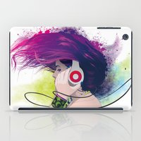 snatch iPad Cases featuring Listen. by Lorenzo Imperato