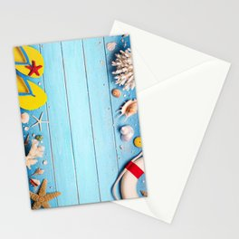 summer life style Stationery Cards