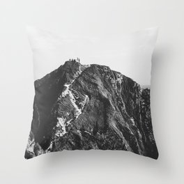 Jurassic Coast Throw Pillow