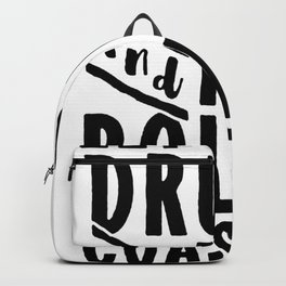 LET_S GET DRUNK AND RIDE ROLLER COASTERS T-SHIRT Backpack