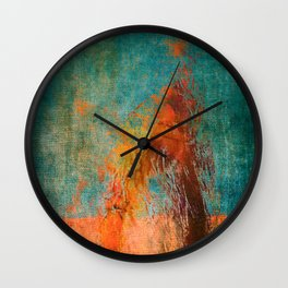 Retirantes II Wall Clock